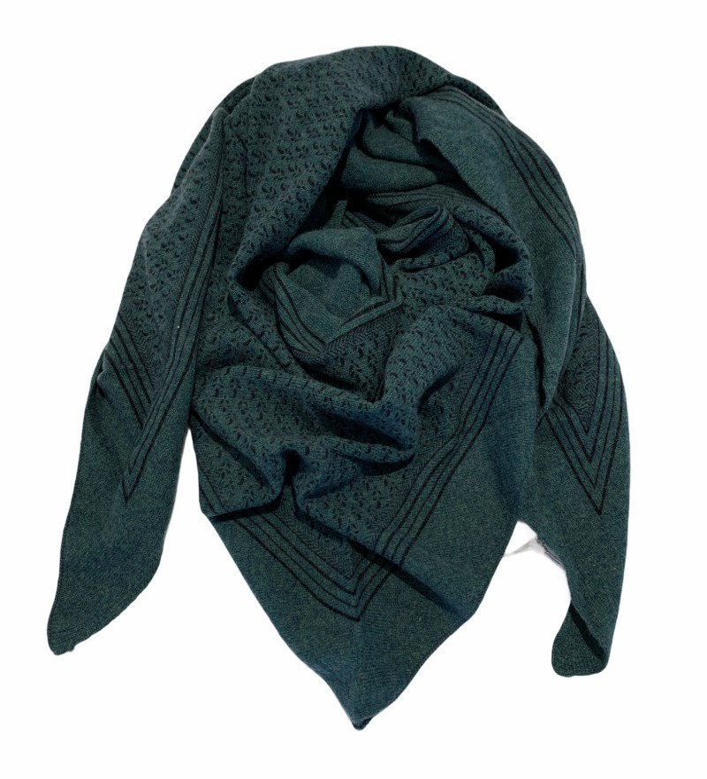 Gauge & Ply tørklæde - Livio - grøn