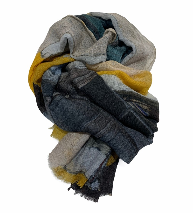 Aperitif Sjaler - window - uld tørklæde