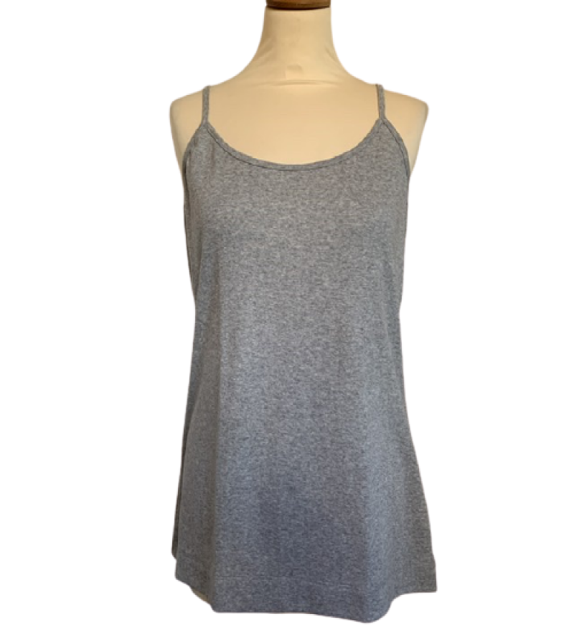 cotton sense 2300 - top - grå melange