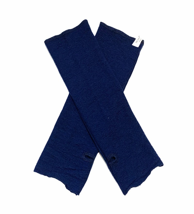 Blusbar 1014 - pulsvarmere - navy blå