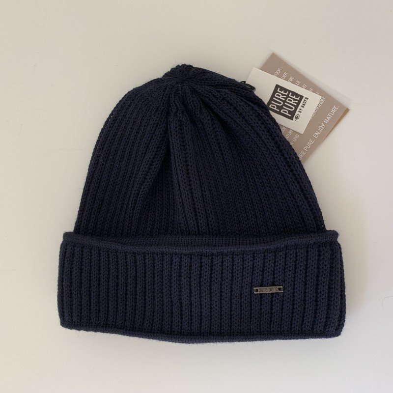 Pure Pure by Bauer beanie I marine-01