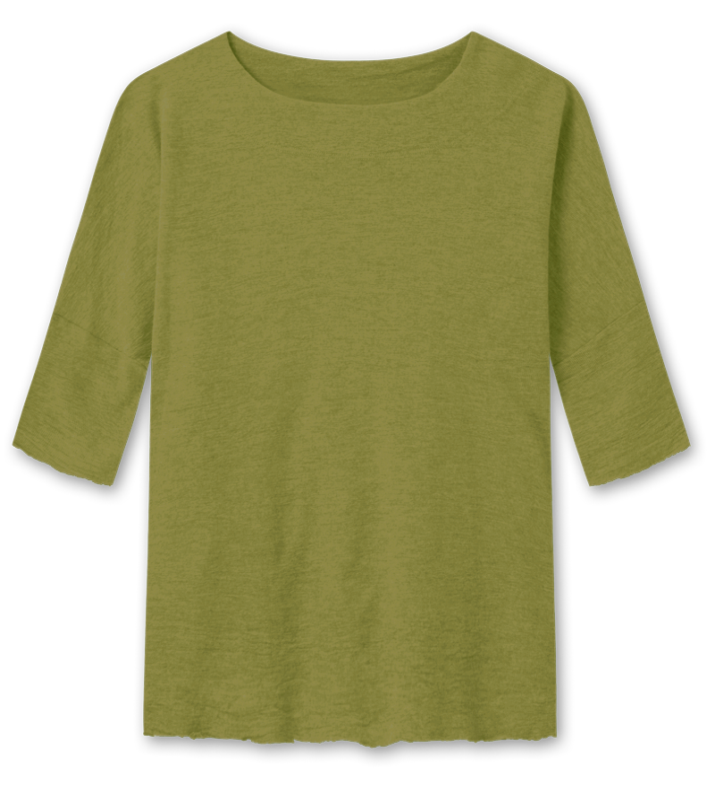 Blusbar 4026 - uld bluse - avokado