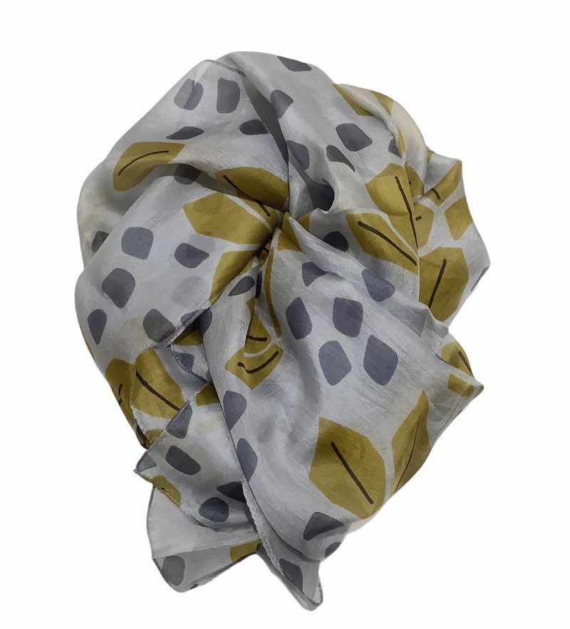 Aperitif Sjaler - flower - silke tørklæde