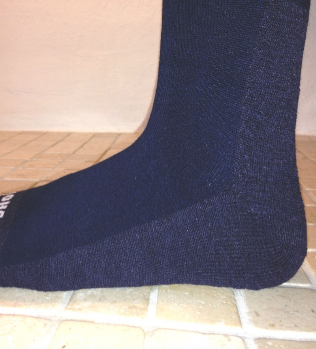 Cape Mohair medi sock mørk blå-01