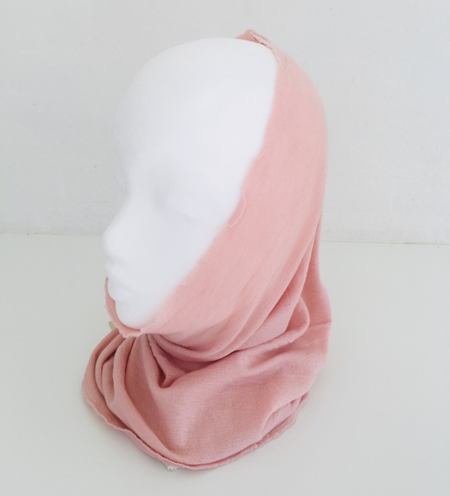 Blusbar 1012 - halsedisse - rosa