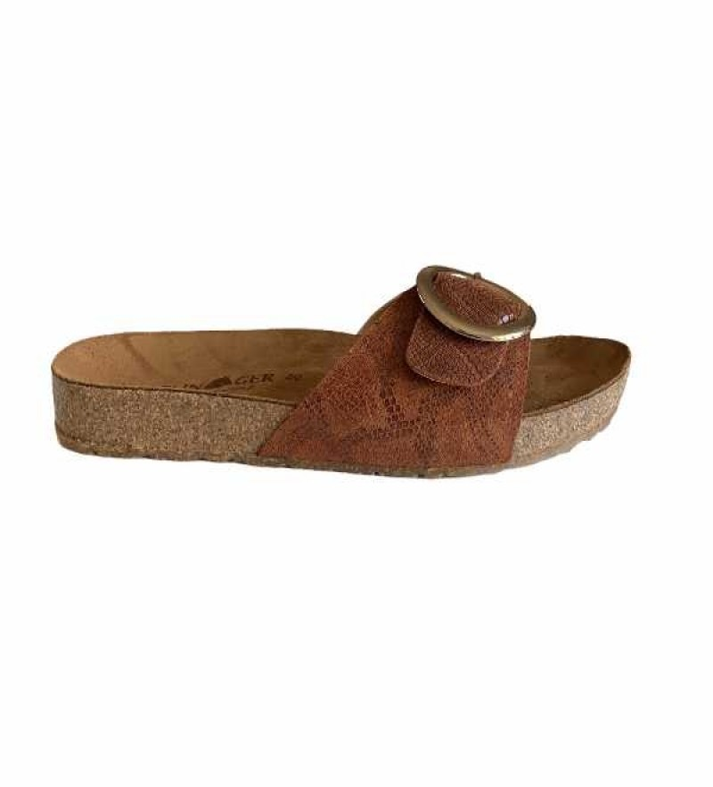 Haflinger sandaler - Gina - brandy