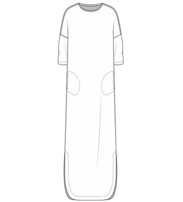 OWN 12005 hør kjole capers-01