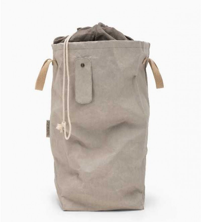 UASHMAMA - Lapo vasketøjskurv - grå