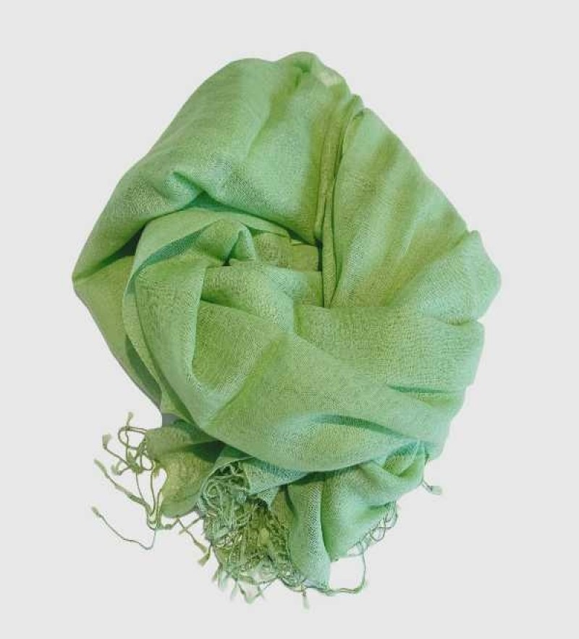 Aperitif Sjaler - lime - uld tørklæde