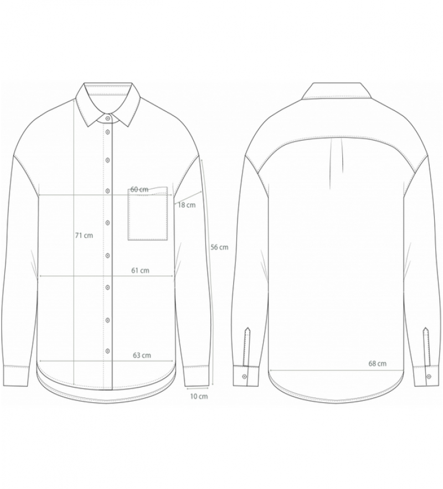 Gai+Lisva Shanta skjorte white-01
