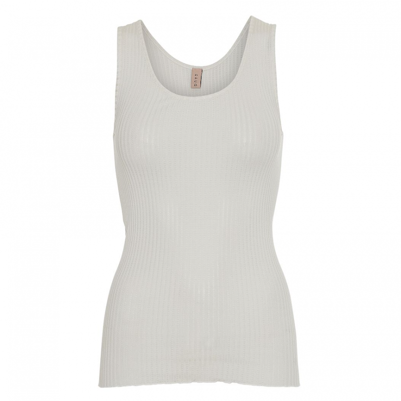 Gauge & Ply silke top - Anna Lucca - off white