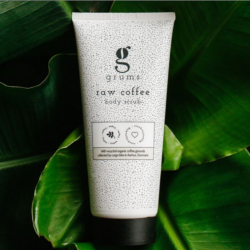 grums - raw coffee body scrub