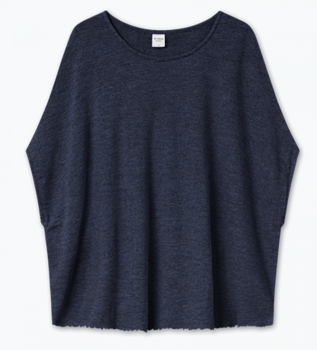 Blusbar 2004 - one size uld vest - midnight blue melange