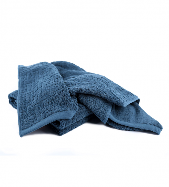 Simply Living - økologisk håndklæde 70x140 - midnight blue