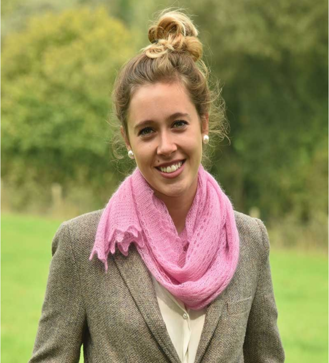 Corrymoor - tørklæde - pink