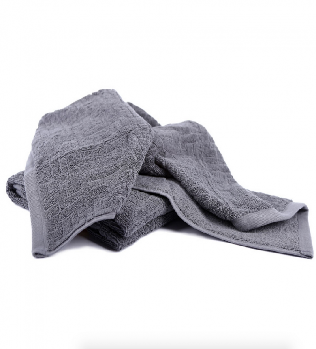 Simply Living - økologisk håndklæde 70x140 - grå
