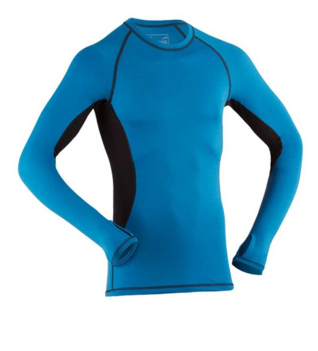 Engel Sports - merino undertrøje - blå