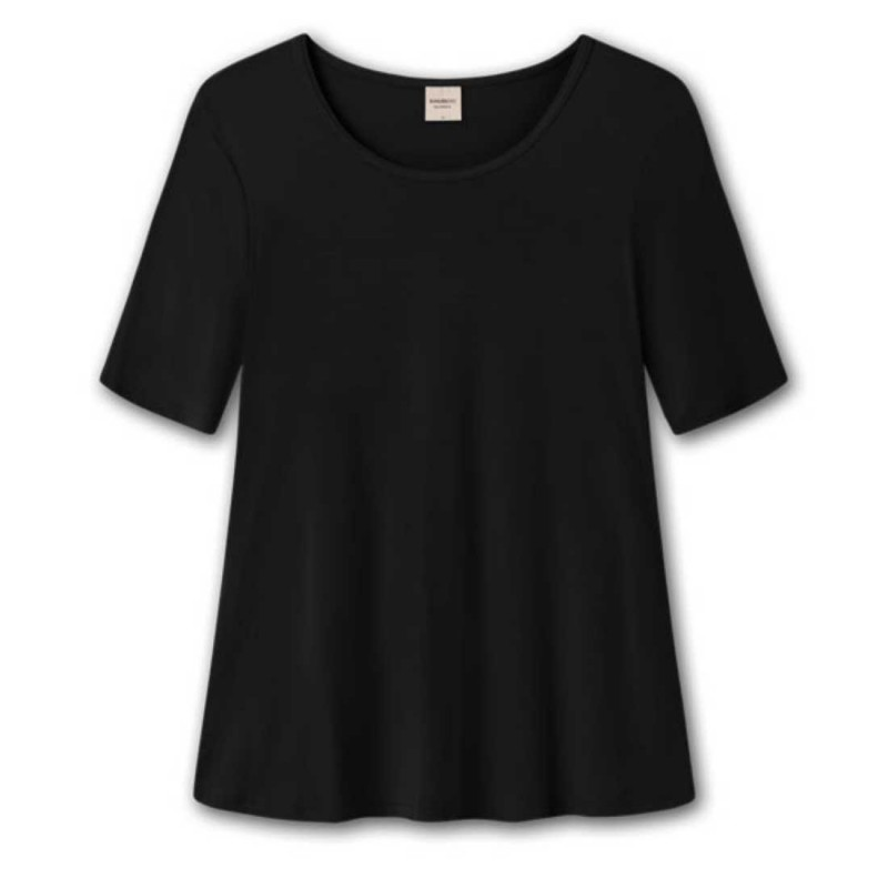 BAMBOO 4601 - A-bluse - sort