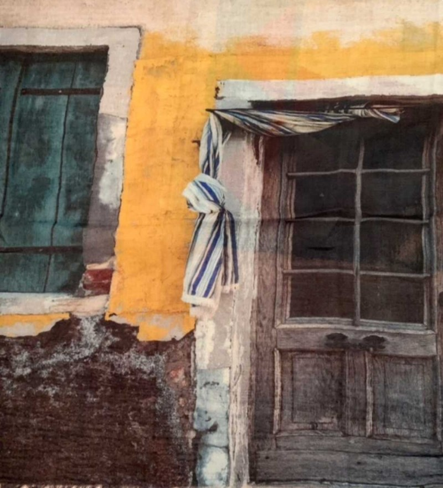 Aperitif Sjaler window uld tørklæde-01