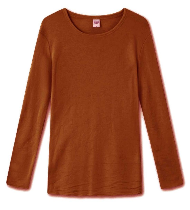 Blusbar 4002 - uld bluse - rust