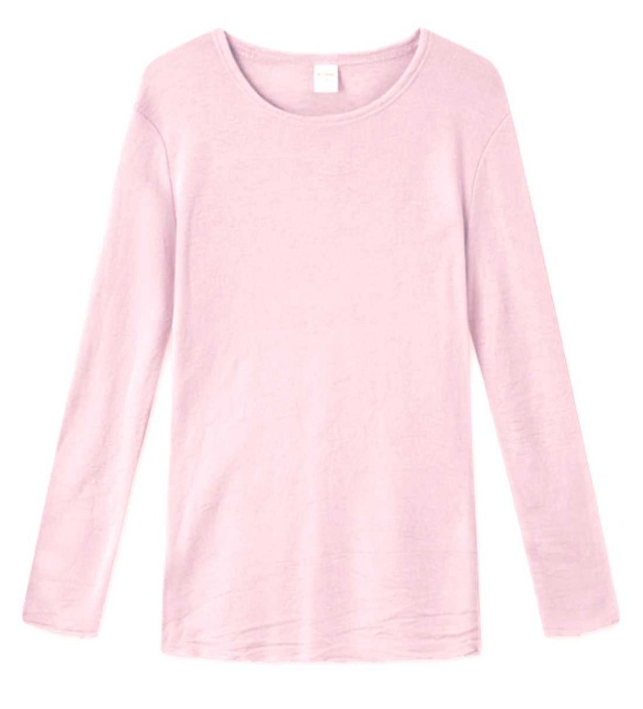 Blusbar 4002 - uld bluse - rose
