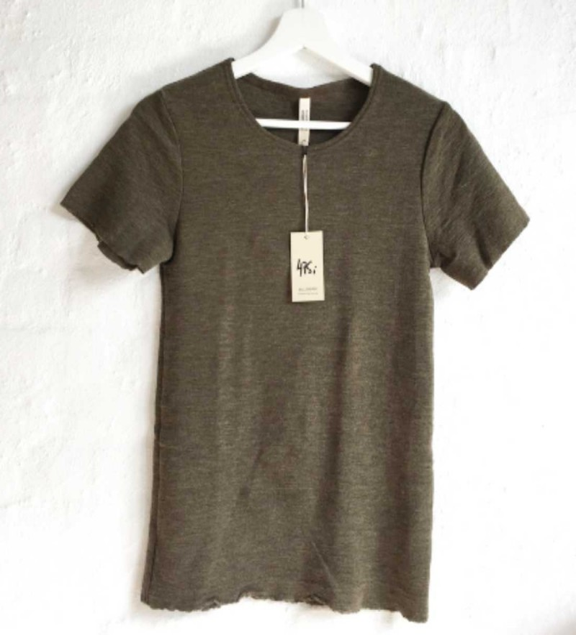 Blusbar 4001 - uld t-shirt - capers melange