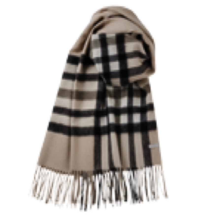 Lassesor Vega - camel - uld halstørklæde