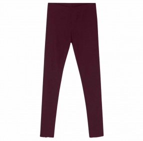 Blusbar 3001 leggings vinrød