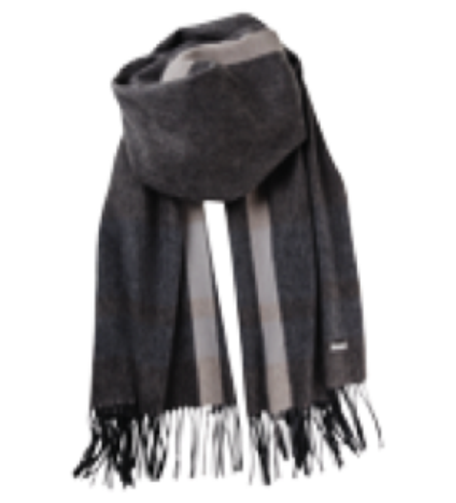 Lassosor Bireta grå halstørklæde mænd-20