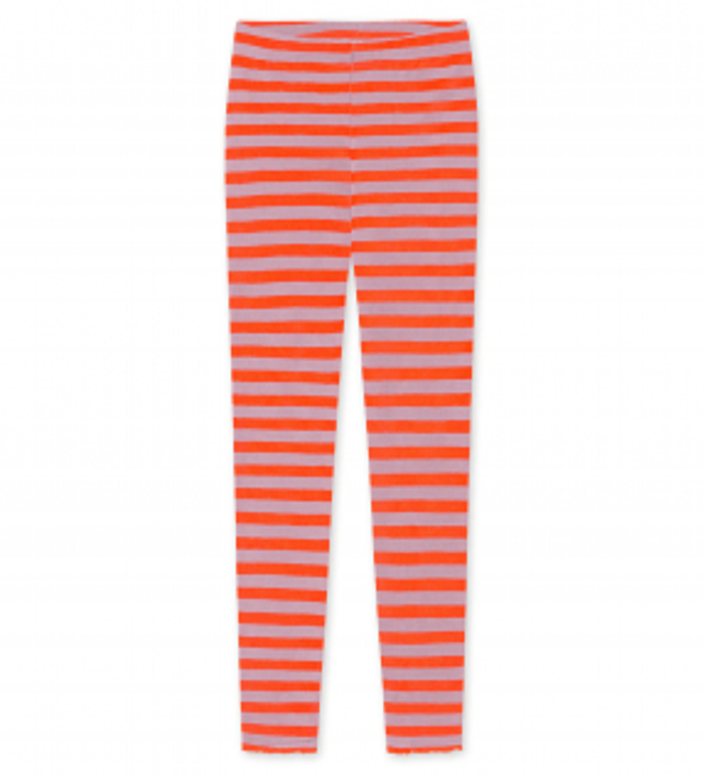 Blusbar 3001 leggings rosa/orange strib