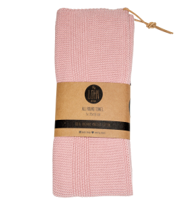 by LOHN håndklæde light pink