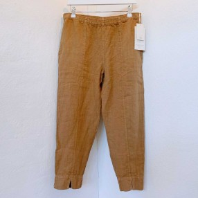 OWN 11003 linen buks med slids camel-20
