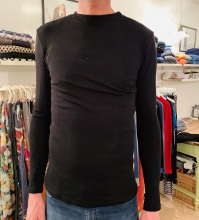 Blusbar 4015 uld trøje sort-20