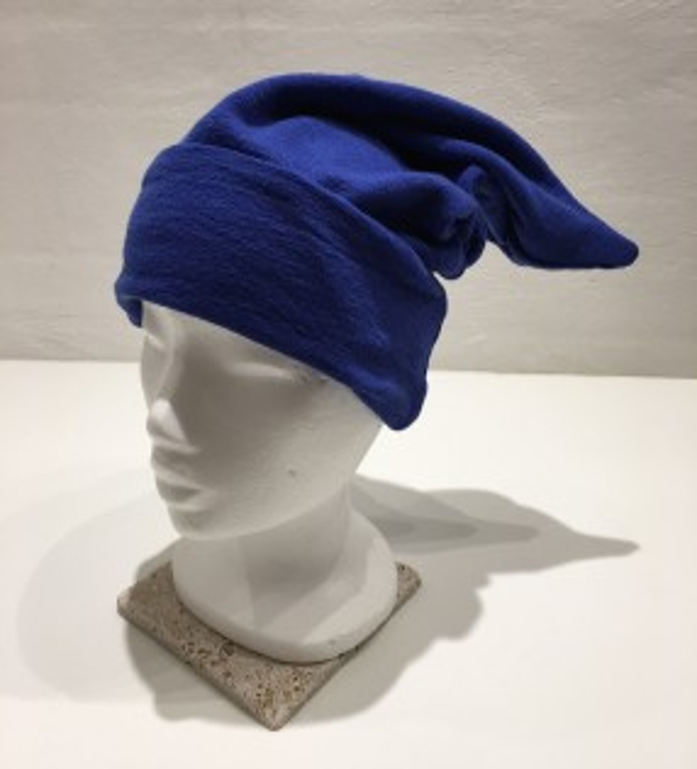 Blusbar 1006 hue med spids cobalt blå-20