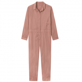 OWN 13008 jumpsuit red clay