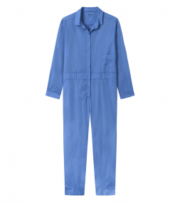 OWN 13008 jumpsuit azur blå