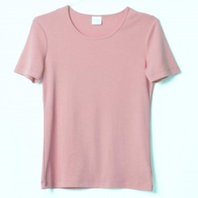 cotton sense 4301 damebluse rosa-20