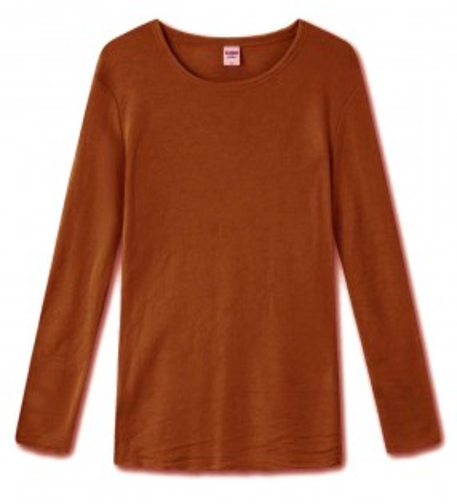 Blusbar 4002 uld bluse rust-20