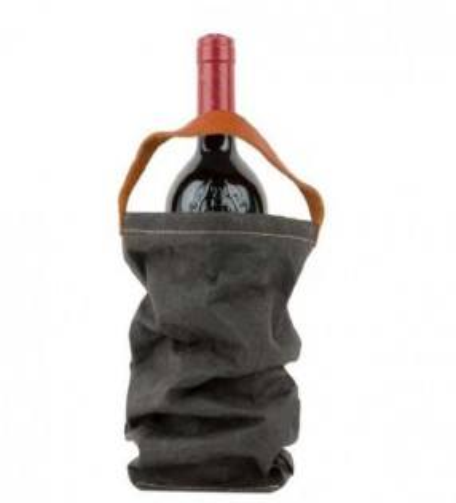 Vin taske koksgrå