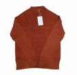 Esencia - harper sweater - brickred