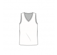 Blusbar 2003 - uld vest/top - rose