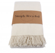 Simply Living - recycled uldplaid natur
