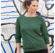 Gorridsen Athena - alpaca - herbal green